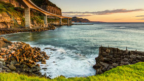 Seacliff Bridge Stock Photo