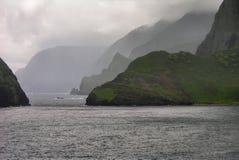 seacliffs molokai Стоковые Фото