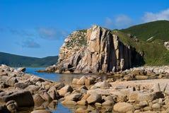 seacoast απότομων βράχων Στοκ φωτογραφία με δικαίωμα ελεύθερης χρήσης