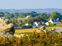 Seacoast στο Guernsey νησί Στοκ Εικόνες