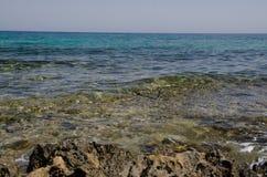 Seacoast της Κύπρου Στοκ Εικόνες