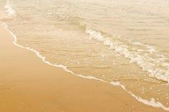 Seacoast όμορφο σαφές νερό στοκ φωτογραφίες