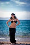 seacoast девушки Стоковое Изображение