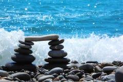 seacoast камушка свода Стоковая Фотография