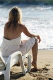 On seacoast Stock Image