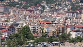 Seacoast, Alanya, Turkey stock video