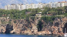 Seacoast, Antalya, Turkey stock video
