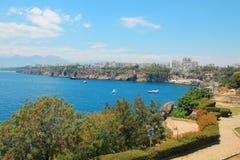 Seacoast Antalya, Turkiet royaltyfri foto
