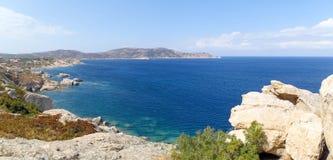Seacoast av Calvi Royaltyfria Bilder