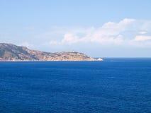 Seacoast av Calvi Royaltyfri Fotografi