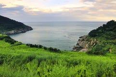 Seacoast bay Royalty Free Stock Photo