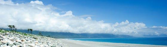 Seacoast bonito Imagem de Stock Royalty Free
