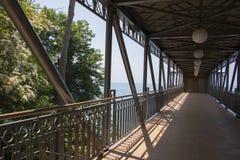 Seacoast bridge Stock Images