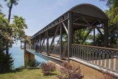 Seacoast bridge Stock Photos