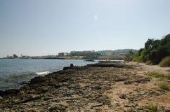 Seacoast de Chipre Fotos de Stock Royalty Free