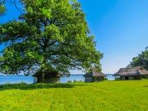 Seacoast do mar Báltico, Estônia foto de stock royalty free