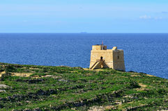 Seacoast of island Gozo,Malta Royalty Free Stock Photos
