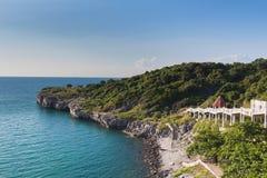 Seacoast linii horyzontu naturalny krajobraz Zdjęcie Stock