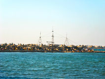 Seacoast of Makadi Bay. Egypt, Red Sea Royalty Free Stock Photography