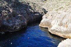 Seacoast of Malta island Stock Image