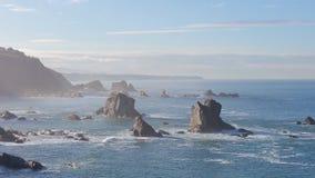 Seacoast norte da Espanha fotografia de stock royalty free