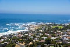 Seacoast obozy zatoka, Południowa Afryka Obraz Stock