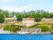 Seacoast of the Oslo Fjord, Norway Royalty Free Stock Images