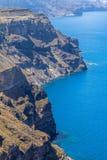 Seacoast of Santorini, Greece Royalty Free Stock Images