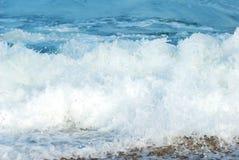 seacoast szorstka fala Fotografia Royalty Free