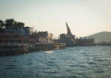 Seacost视图, Islands王子 免版税库存图片