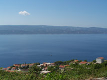 Seacost στην Κροατία Στοκ εικόνα με δικαίωμα ελεύθερης χρήσης