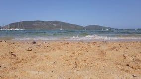 Seacost пляжа видеоматериал