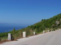 Seacost i Kroatien Fotografering för Bildbyråer