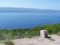 Seacost w Chorwacja zdjęcia royalty free