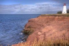 Seacow-Kopfleuchtturm, Prinz Edward Island Lizenzfreie Stockbilder