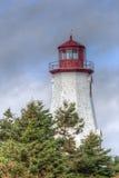 Seacow-Kopfleuchtturm, Prinz Edward Island Stockfoto