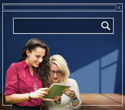 Seacrh Searching Search Box  Browsing Concept Stock Photo