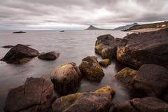 Seacscape στον ακραίο Βορρά Στοκ Εικόνες