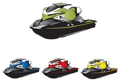 Seadoo high quality full details Royalty Free Stock Images