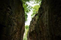 Seaeye kanjon royaltyfri fotografi