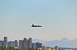 Seafair Blue Angels Stock Photography