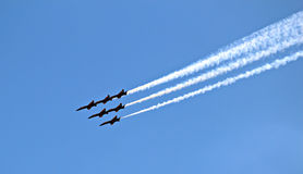 Seafair Blue Angels Stock Image