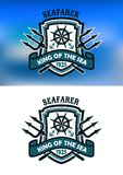 Seafarer marine banner Stock Photo