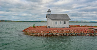 Seafarer& x27; s-Kapelle u. x28; Sjöfararkapellet& x29; in Mariehamn Aaland Islan Lizenzfreie Stockfotos