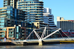 Seafarers Bridge - Melbourne Royalty Free Stock Photography