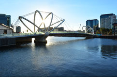 Seafarers Bridge - Melbourne Stock Photos