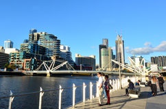 Seafarers Bridge - Melbourne Stock Photography