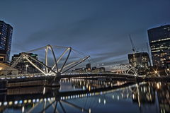 Seafarers Bridge, Melbourne Royalty Free Stock Images