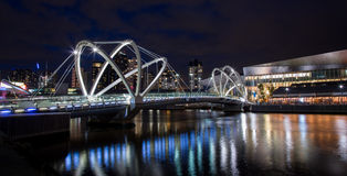 Seafarers Bridge in Melbourne Stock Photo