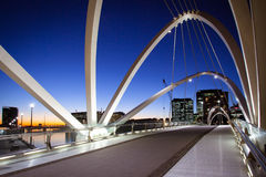 Seafarers Bridge in Melbourne Royalty Free Stock Photo